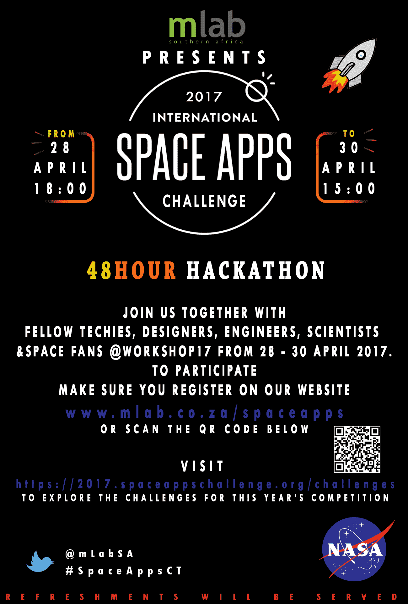 Space Apps Hackathon 2017 Poster